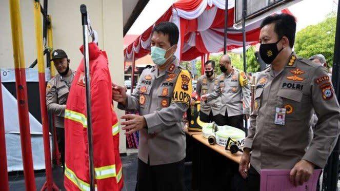 Pengecekan peralatan penanganan karhutla di Kalimantan Selatan