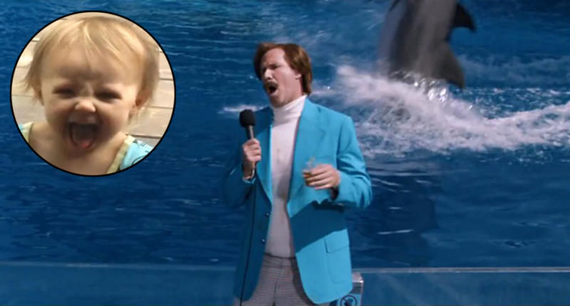 We Love Lamp, 'The Landlord,' and SO Much More About Our 'Anchorman 2′ Set Visit