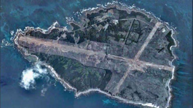 VIVA Militer : Foto satelit Pulau Mage (Mageshima), Jepang
