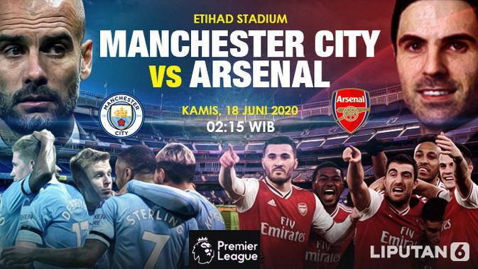 Prediksi Manchester City Vs Arsenal (Trie Yas/Liputan6.com)