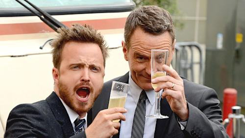 Aaron Paul Hosting 'Breaking Bad' Scavenger Hunt on Emmy Awards Day