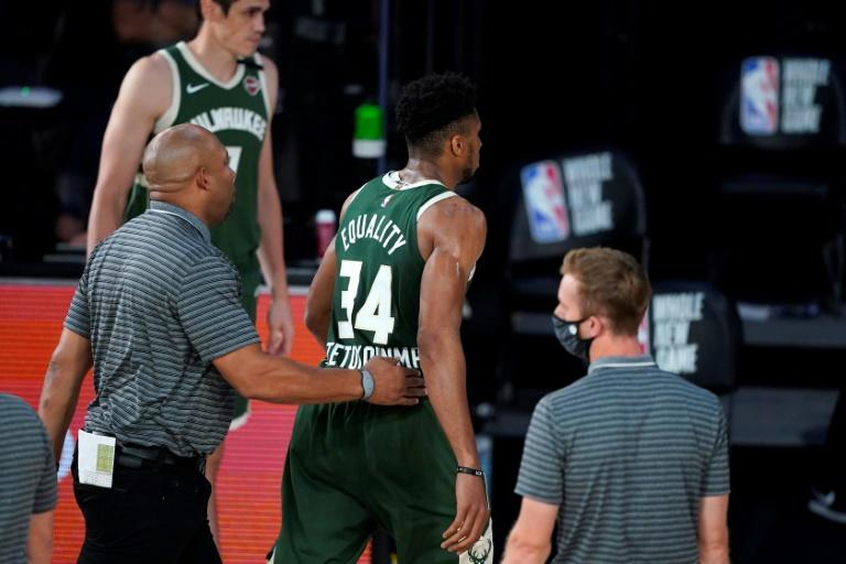 Bucks star Antetokounmpo suspended after head-butting opponent