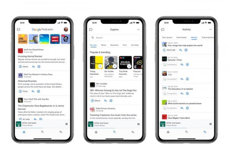 Google Podcasts hadir di iOS, bawa pembaruan