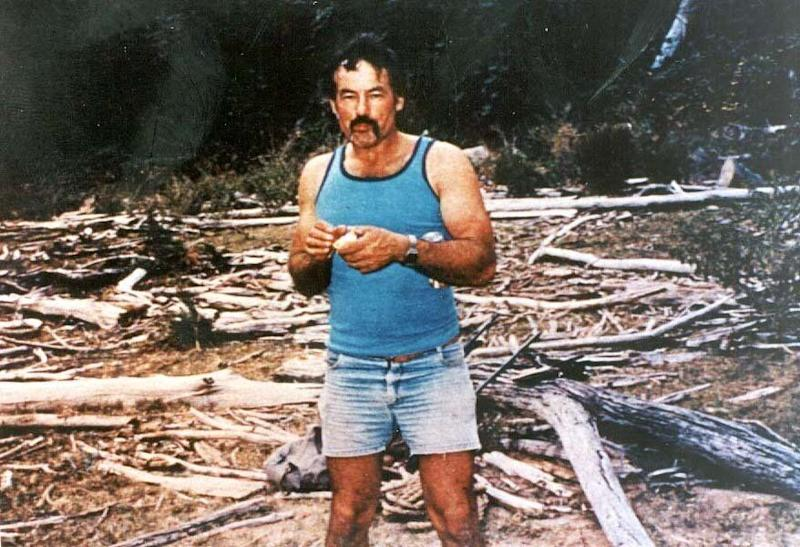 An undated photo of Milat. He murdered seven backpackers whose bodies were found in makeshift graves in NSW's Belanglo State Forest in the 1990s. Source: AAP