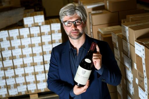 In all, 1,064 bottles went under the hammer at the Baghera Wines auction at a gourmet restaurant in Geneva
