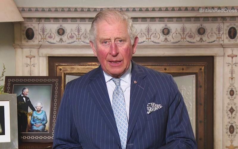 Prince Charles records an introduction to a new online Red Cross exhibition - British Red Cross