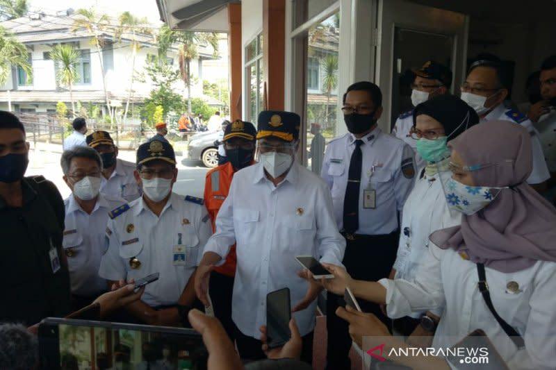 Menhub tinjau kesiapan transportasi antarmoda Yogyakarta - Solo
