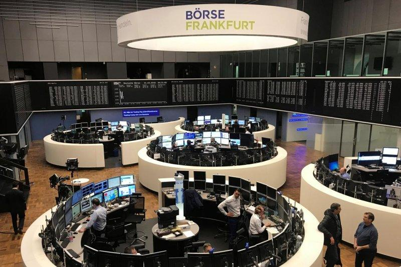 Bursa saham Jerman ditutup cenderung datar