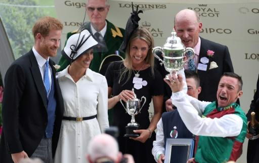 Royal patronage plays a crucial role in making Royal Ascot a world apart and winning owner John Gunther said receiving the St James's Palace Stakes trophy from Prince Harry and his wife Meghan was like reaching the summit of Mt Everest
