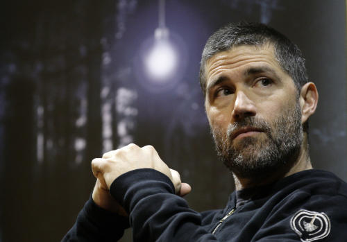 "FILE - This Nov. 22, 2010 file photo shows actor Matthew Fox at a news conference for the launch of the new play 'In a Forest, Dark and Deep' at the Vaudeville theatre in London. A private bus driver in Ohio who claimed she was punched by Matthew Fox has withdrawn her lawsuit against the actor. Heather Bormann sued the former star of TV's ""Lost"" in November, seeking $75,000 in damages. Fox countersued, claiming the Cleveland woman assaulted and slandered him. Court records show both suits were dropped Thursday, May 31, 2012. (AP Photo/Sang Tan, file)"