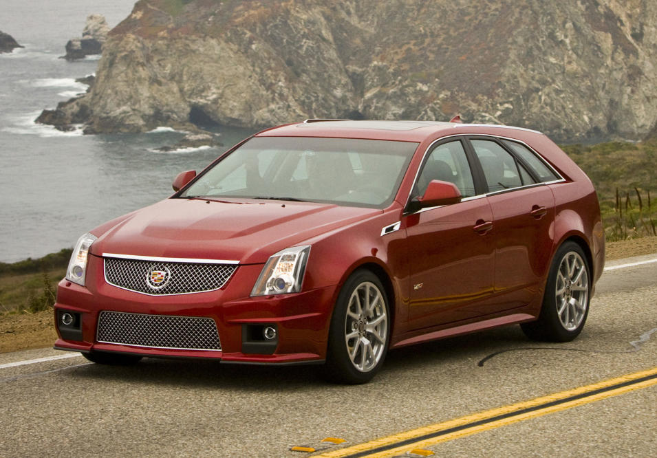 This undated photo made available by General Motors shows a 2013 Cadillac CTS-V Wagon. (AP Photo/GM)