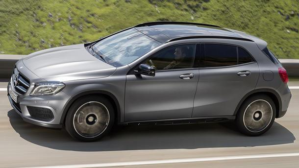 Mercedes squeezes into compact SUVs with the new 2015 GLA-Class