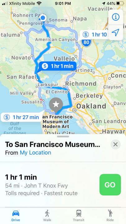 apple maps tips etaa2