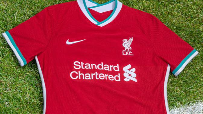 Liverpool Luncurkan Jersey Anyar: Gahar Menyongsong Era Baru (Dok Liverpool)