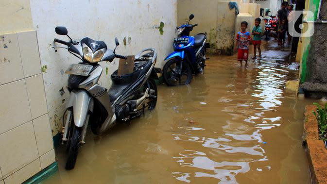 Banjir di Bidara Cina Jakarta Timur Mulai Surut