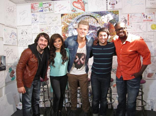 Pentatonix Bring Their Sing-Off To Yahoo!