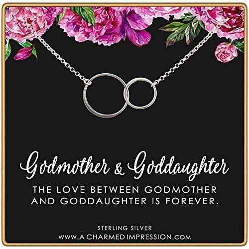 """<p><strong>Two Cups Jewelry by A Charmed Impression</strong></p><p>amazon.com</p><p><strong>$34.00</strong></p><p><a href=""""https://www.amazon.com/dp/B07W3YT496?tag=syn-yahoo-20&ascsubtag=%5Bartid%7C10070.g.25587317%5Bsrc%7Cyahoo-us"""" target=""""_blank"""">SHOP NOW</a></p><p>Although the little one won't be able to wear it now, this infinity circle linked necklace will be something she'll love wearing once she gets older. Get one for yourself so you can match with her and show just how much she means to you.</p>"""