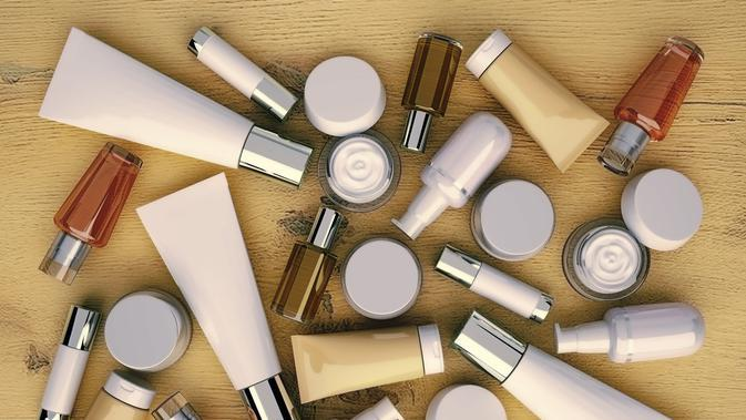 ilustrasi produk skin care (sumber: iStockphoto)