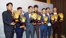 王威晨包辦金手套及最佳9人三壘手獎 (圖)