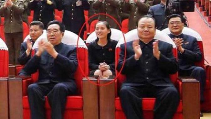 Adik Kim Jong-un, Kim Yo-jong (KCNA)