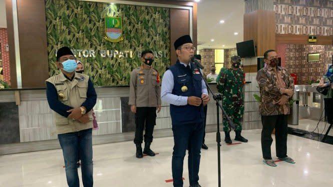 Ridwan Kamil Sarankan Tiru Bogor Berlakukan Jam Malam dan PSBM