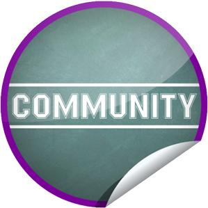 Exclusive 'Community' Sticker From GetGlue and Yahoo! TV