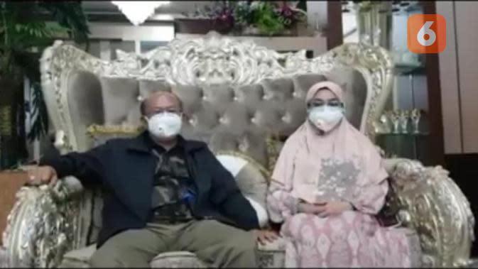 Bupati Jeneponto, Iksan Iskandar dan Istri Positif Covid-19