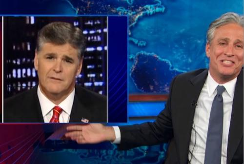 Jon Stewart: Sean Hannity Doesn't Mind the Government Shutdown, Why Should We? (Video)