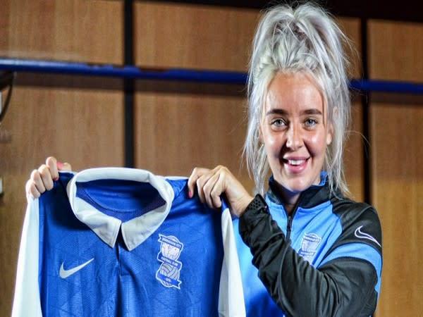 England midfielder Mollie Green (Photo/Birmingham City Women Twitter)