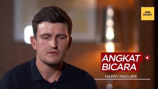 VIDEO: Kapten Manchester United, Harry Maguire Angkat Bicara Soal Kasus Hukum yang Menimpanya