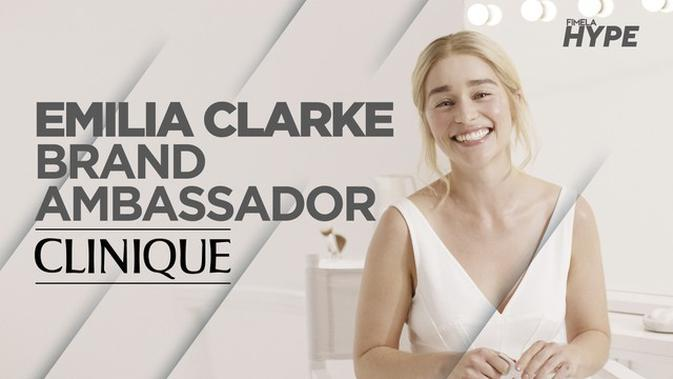 Emilia Clarke Dinobatkan Menjadi Global Brand Ambassador Pertama CLINIQUE Cosmetic