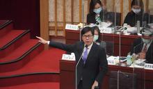 高市議會施政質詢 陳其邁允諾努力改善空污 (圖)