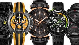 買不起新車就用手錶犒賞自己!5款嚴選賽車錶極速現身!