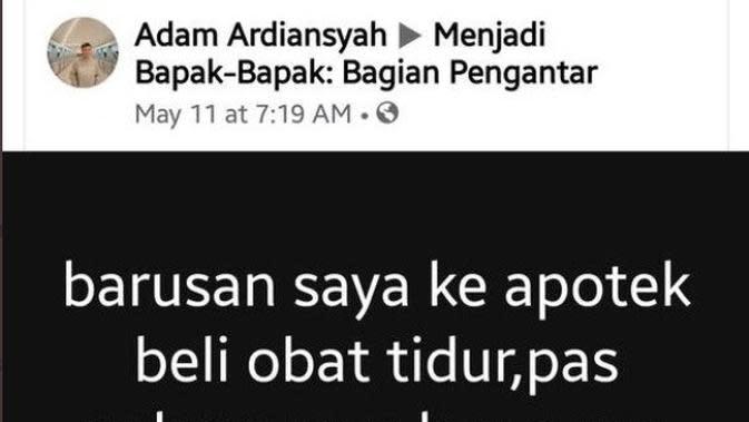 foto: FB Adam Ardiansyah
