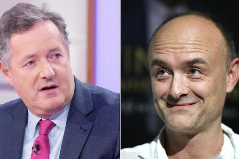 Piers Morgan called for the PM to sack his aide: Getty Images