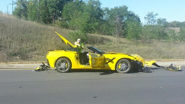 New Corvette Stingray found wrecked; public demands answers