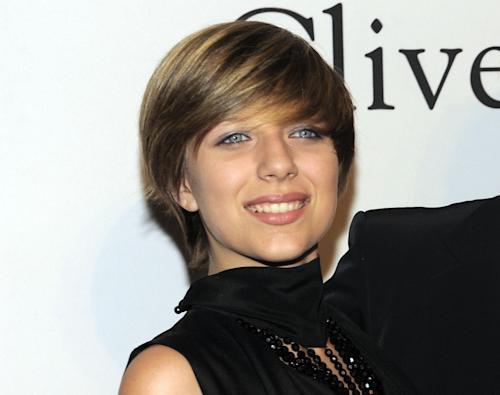 FILE _ This Jan 30, 2010 file photo shows Stephanie Rose Bongiovi, daughter of rocker Jon Bon Jovi, at the annual Pre-GRAMMY Gala presented by The Recording Academy and Clive Davis in Beverly, Hills, Calif. Authorities say Jon Bon Jovi's 19-year-old daughter is hospitalized after overdosing on heroin in a dorm at her upstate New York college. Town of Kirkland police say an ambulance was sent to Hamilton College early Wednesday, Nov. 14, 2012, after a report that a female had apparently overdosed on heroin. Police say Bongiovi and 21-year-old Ian Grant, also of Red Bank, were charged with drug possession. Both were issued tickets and ordered to appear in court at a later date. (AP Photo/Chris Pizzello, file)