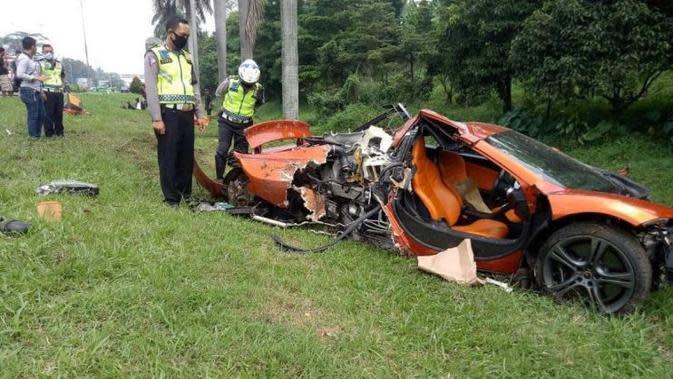 Fantastis, Biaya Perbaikan McLaren yang Kecelakaan di Tol Jagorawi Lebihi Harga Mobilnya