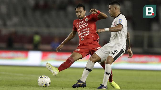 Penampilannya pada Shopee Liga 1 2019 relatif menurun jika dibandingkan dengan performanya di kompetisi Liga 1 2018. Namun, Rohit tetap menjadi salah satu pemain penting bagi Persija. (Bola.com/Yoppy Renato)