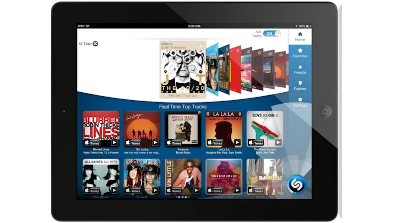 Shazam's iPad App Now Listens for Music, TV Automatically