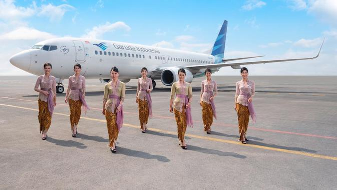 Seragam Pramugari Garuda Indonesia rancangan Anne Avantie (Dok. Anne Avantie)