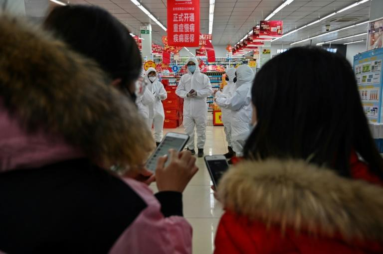 As of Saturday, almost 1,300 people have been infected across China, the bulk of them in and around Wuhan