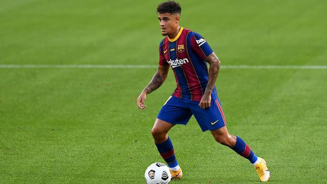 Winger Barcelona, Philippe Coutinho. (AFP/Josep Lago)