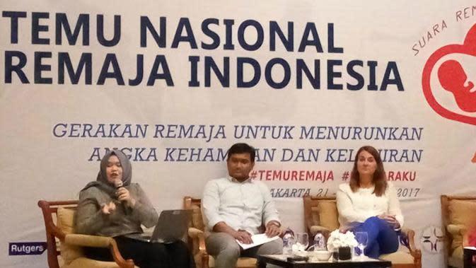 Melinda Gates di Yogyakarta (Liputan6.com/ Switzy Sabandar)