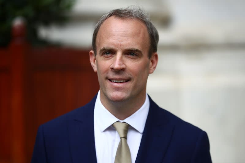 UK will honour its word on immigration to those eligible in Hong Kong, says Raab