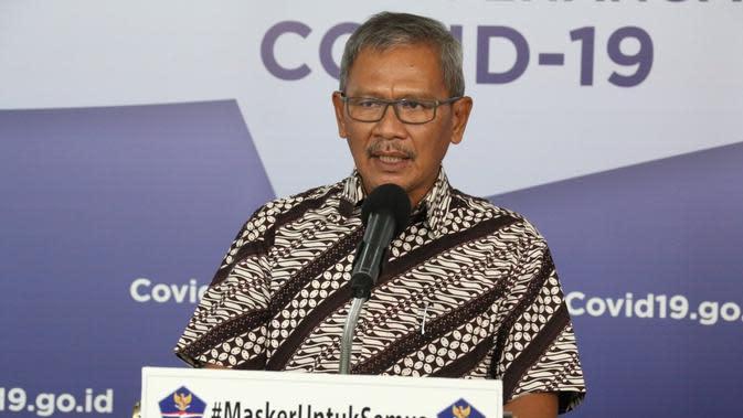 Juru Bicara Pemerintah untuk Penanganan Covid-19 Achmad Yurianto. (dok BNPB)