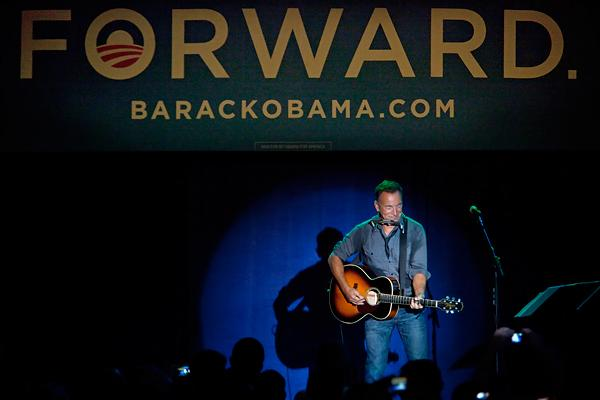 Bruce Springsteen to Campaign for Obama in Pittsburgh