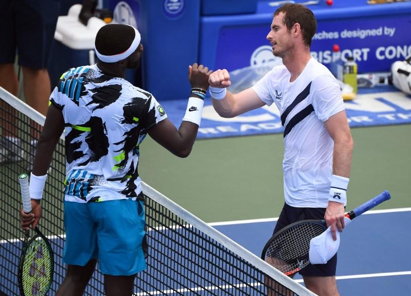 Murray makes winning return at eerie Western and Southern Open