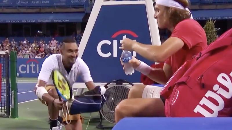 Citi Open: Nick Kyrgios beats Daniil Medvedev to win in Washington