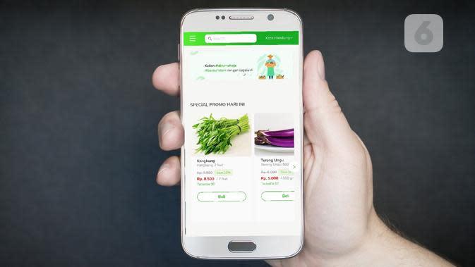 Aplikasi Layanan Pesan-Antar Kebutuhan Pokok Sagala.id Tersedia di Play Store